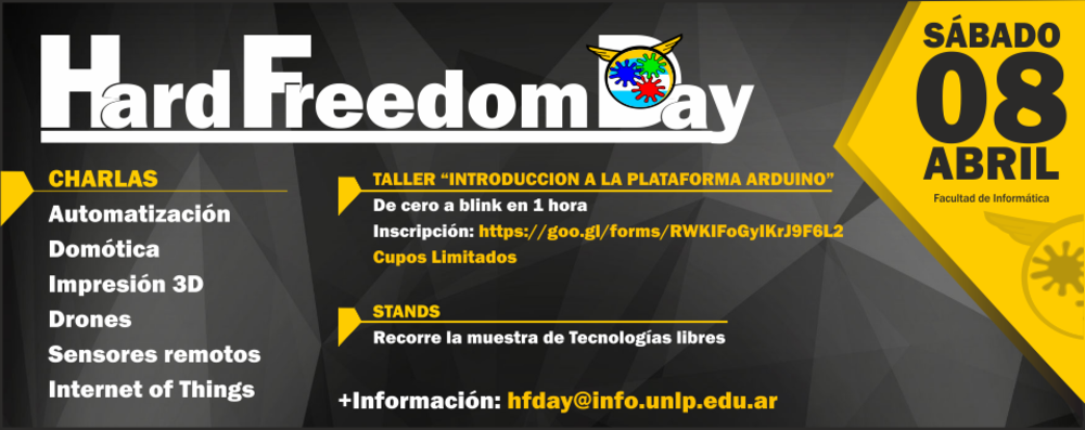 Hardware Freedom Day 8 de abril.
